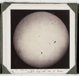 The Sun, taken at 10.05 am, 24 September 1861.