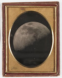 Daguerreotype of the Moon, 1851.