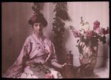 Girl in a kimono, 1908.