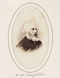 'H. W. Longfellow', c 1870.