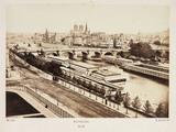 Panorama of Paris, c 1865.