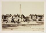 Place de la Concorde, Paris, c 1865.