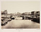 'Pont de Solferino', c 1865.