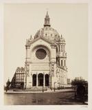 Eglise de St Augustine, Paris, c 1865.