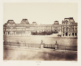 'Louvre', Paris, c 1865.