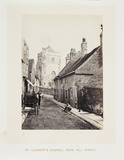 'St Clement's Church, From Hill Street', 1864.