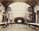 Praed Street Station, Paddington, London, c 1867.