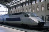 Train a Grande Vitesse (TGV), Marseilles, France, 2002.