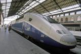 Train a Grande Vitesse (TGV), Marseilles, France, 2001.