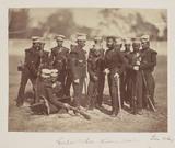 'Gorka's Rifles. Mussoree Bataillons', c 1858.