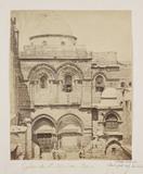'Eglise du St Sepulchre Facade', 1857.