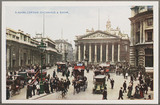 'London: Exchange And Bank', c 1914.