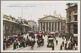 'London: Exchange And Bank', c 1914.