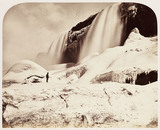 'Part of American Falls, with Caves', 1860.