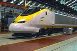 British Eurostar train, 1990s.