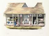 Chinese shops, Ambon, 1826-1829.