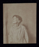 Portrait of a patient, Surrey County Asylum, 1855.