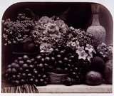'Flowers and Fruit', c 1860.
