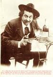 Heavy absinthe drinker, c 1900.