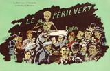 'Le Peril Vert - L'Absinthe', c 1910.