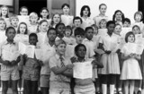 Children celebrating the independence of Zimbabwe, 20 December 1972.