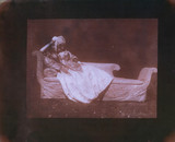 Lady Elizabeth Feilding on her chaise longue, 20 April 1842.
