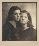 Portrait study, c 1930.
