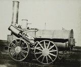 'Invicta' steam locomotive, 1830.