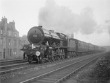 LMS passenger steam train.