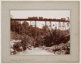 'A Viaduct on the Mau Escarpment', c 1900.