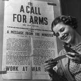 'A Call for Arms', Second World War, May 1940.