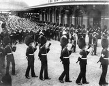 Funeral cortege of King Edward VII, Windsor Station, 20 May 1910.