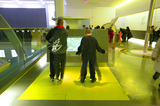 Children in the Energy Gallery, Science Museum, London, 2007.