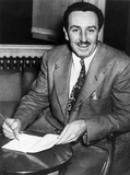 Walt Disney at his London hotel, 19 November 1946.