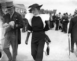 Fashions at the Royal Ascot Races, Berkshire, 16 June 1936.