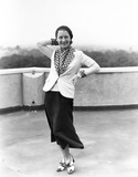 Norma Shearer on the roof of the Dorchester Hotel, 8 July 1931.