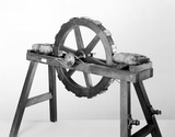 Early electromagnetic engine, mid-19th century.