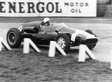 Stirling Moss driving a Cooper BRM, c 1950s.