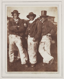 Fishermen, Newhaven, Scotland, 1845.
