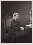 Queen Victoria, c 1870.
