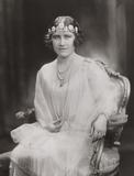 Portrait of Elizabeth, the Duchess of York, 1926.