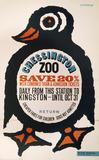 """'Chessington Zoo', BR poster, 1964."""