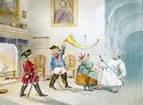 """""""Scene from Baron Munchausen, c 1850. Magic """""""