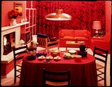 """Dining Room, c 1960"""