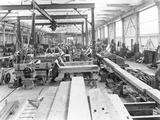 """Earlestown Carriage and Wagon Works, Merseyside, c 1926."""