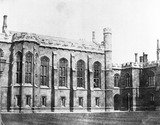 """""""Quadrangle, Corpus Christi College, Cambridge, c 1841. """""""
