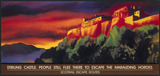 """'Stirling Castle' Scotrail poster, 1996."""