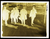 """""""Striking miners returning to their homes, Wales, 6 September 1936."""""""