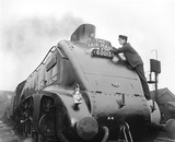 """""""A4 class locomotive, 1957"""""""