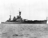 """HMS 'Renown', British warship, 1916."""
